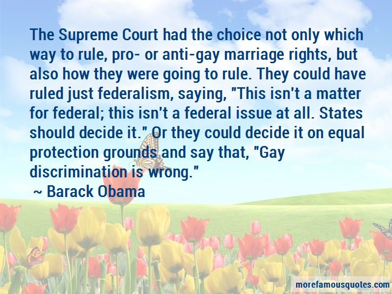 Quotes About Gay Discrimination