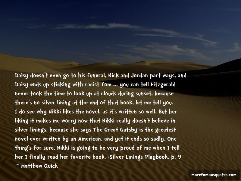 Quotes About Jordan The Great Gatsby
