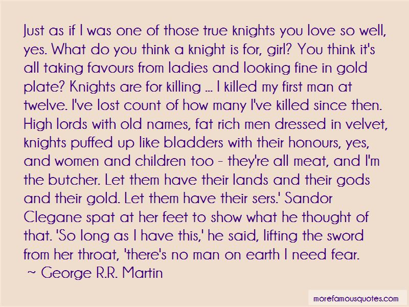 Knights And Ladies Quotes Pictures 4
