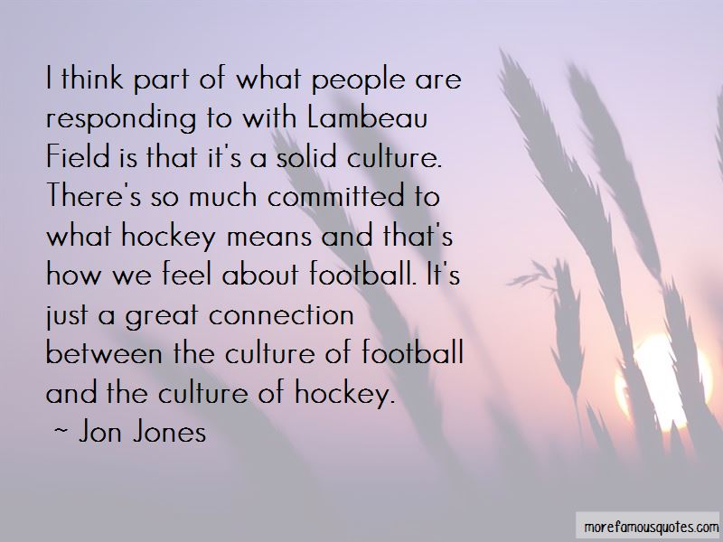 Quotes About Lambeau Field