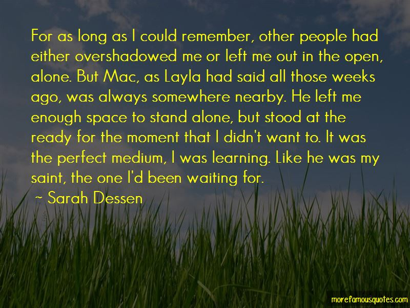 Quotes About Learning To Stand Alone