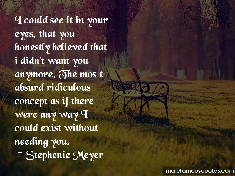 Quotes About Needing You