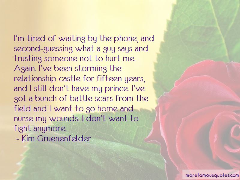 Quotes About Not Waiting For A Guy Anymore