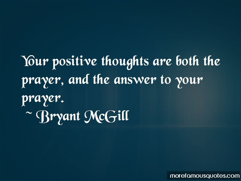 Quotes About Positive Thoughts
