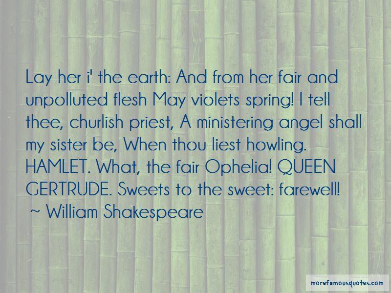 Quotes About Queen Gertrude In Hamlet