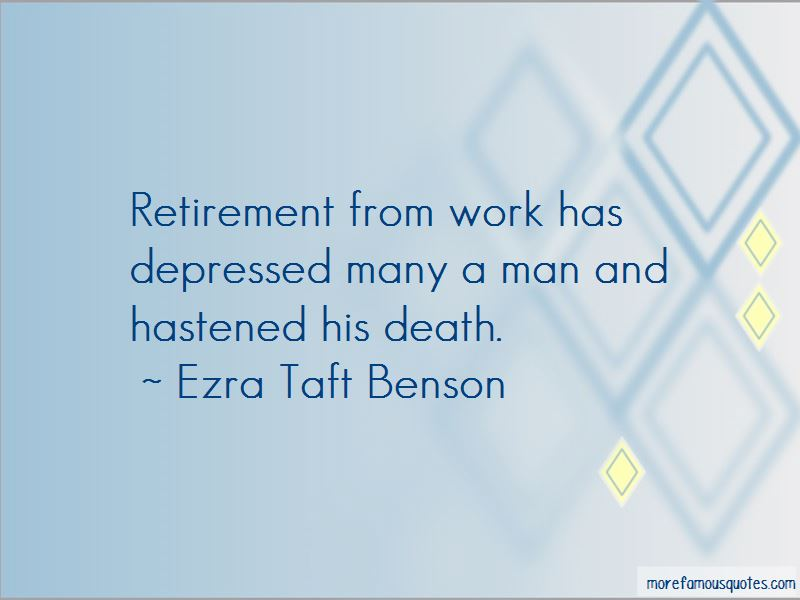 Quotes About Retirement From Work