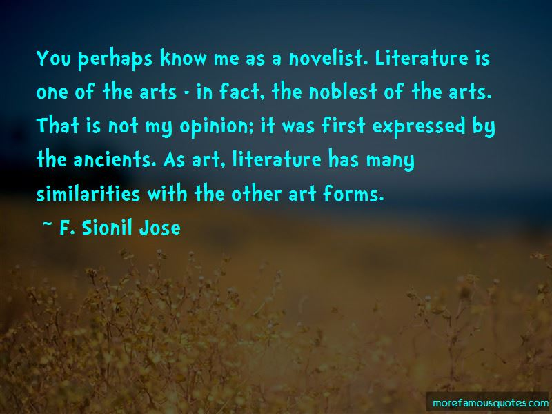Quotes About Similarities In Literature