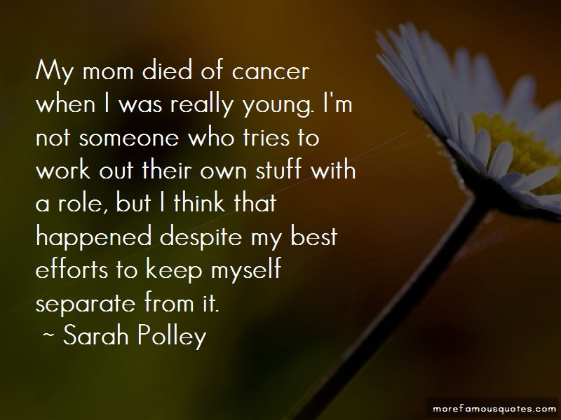 Quotes About Someone Who Died Of Cancer