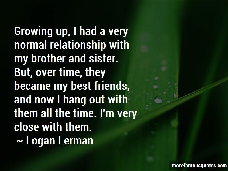 The Relationship Of Sister And Brother Quotes Pictures 3