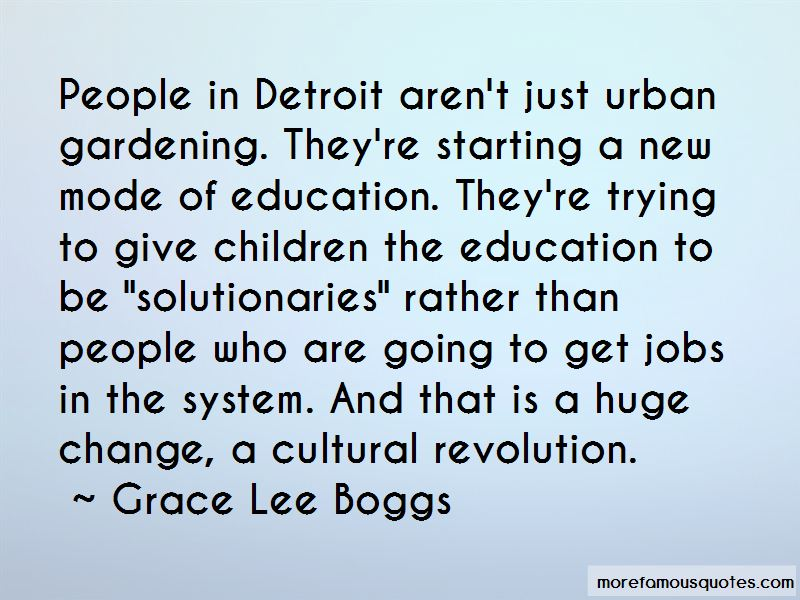 Quotes About Urban Gardening