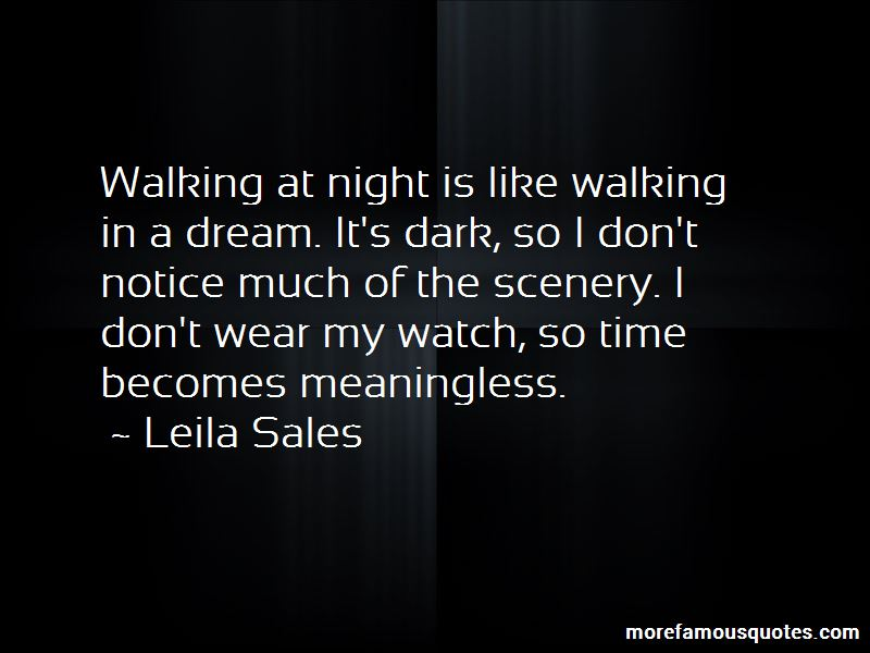 Walking At Night Quotes Pictures 2
