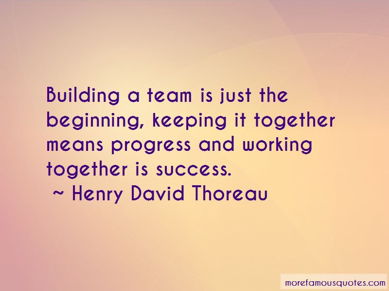 Working Together For Success Quotes Pictures 2