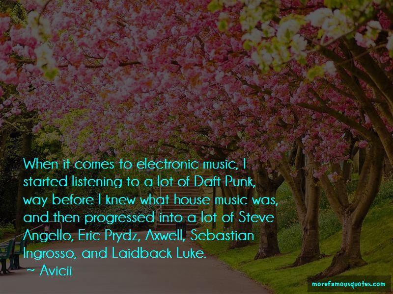 Steve Angello Quotes