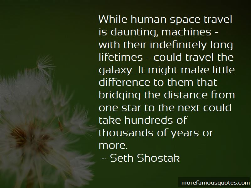 Bridging The Distance Quotes