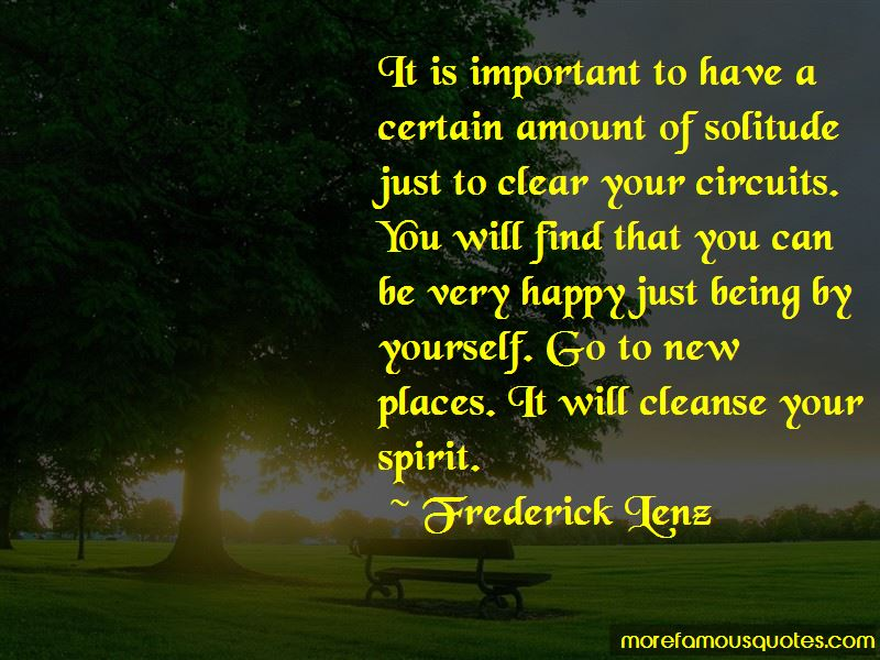 Cleanse Your Spirit Quotes