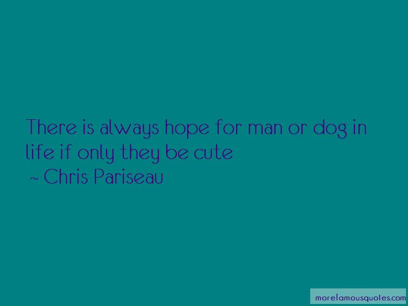 Cute Man And Dog Quotes