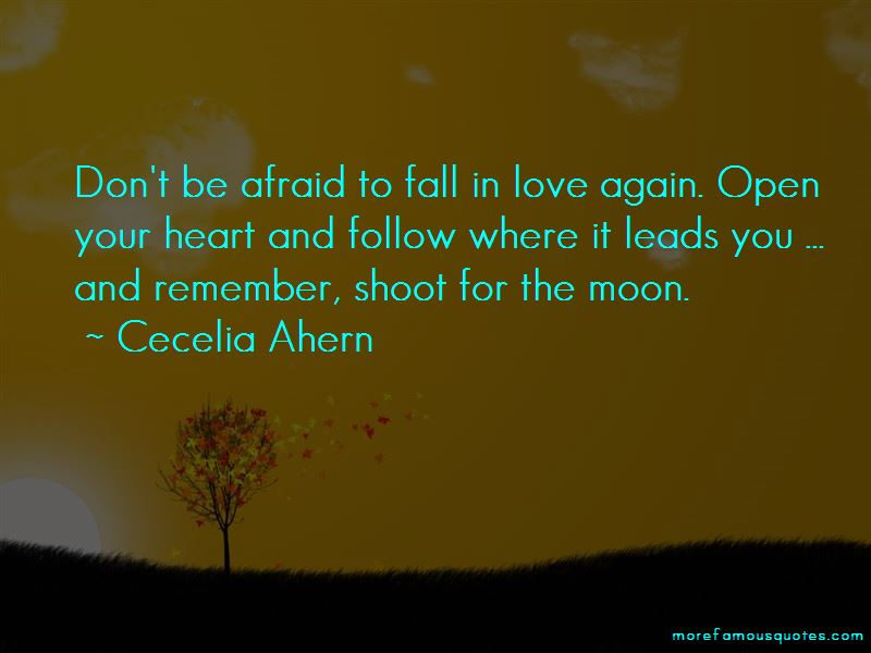 Don't Be Afraid To Fall In Love Again Quotes