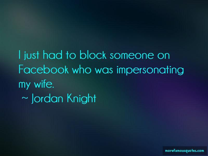 Facebook Block Me Quotes