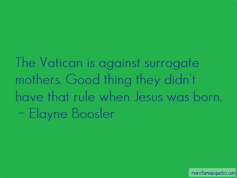 Good Surrogate Quotes