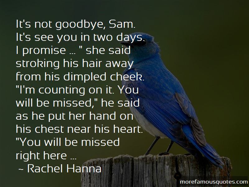 Goodbye You Will Be Missed Quotes