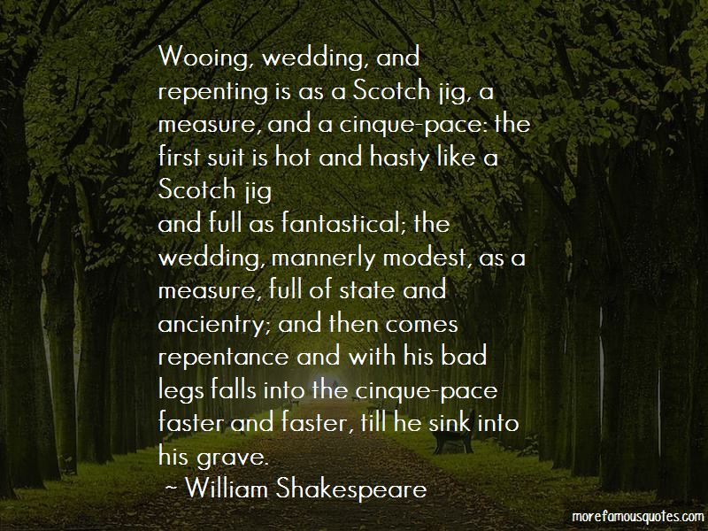 Hot Wooing Quotes