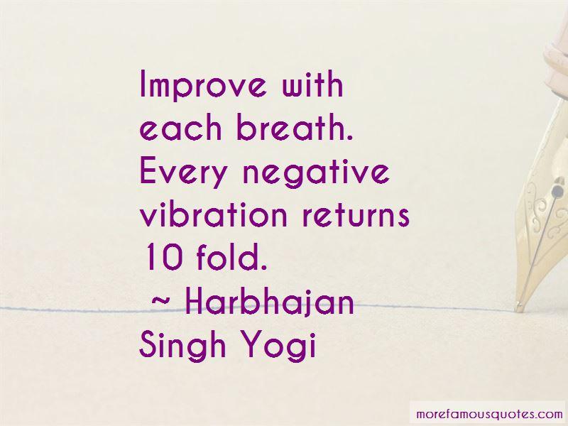 Negative Vibration Quotes