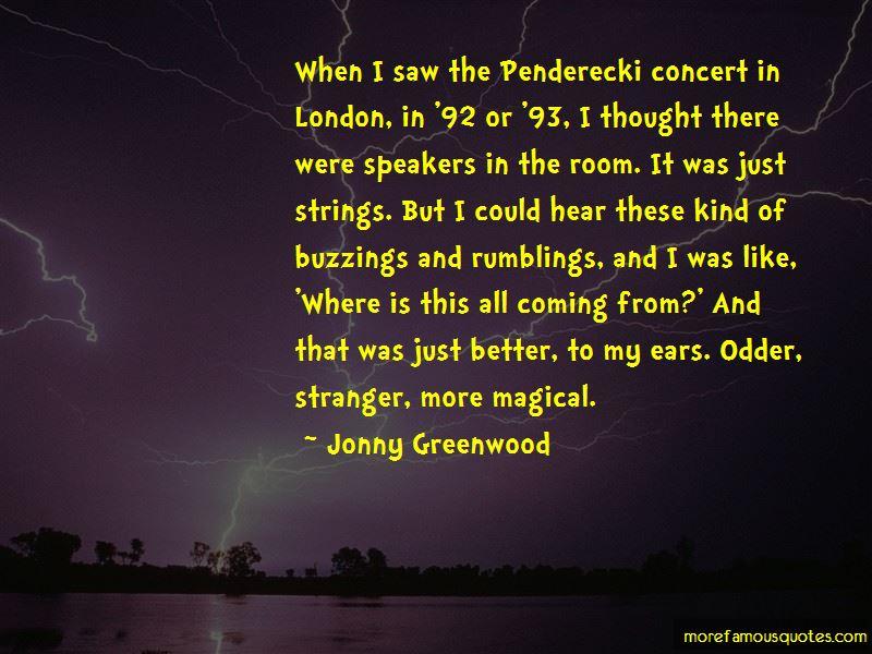 Penderecki Quotes