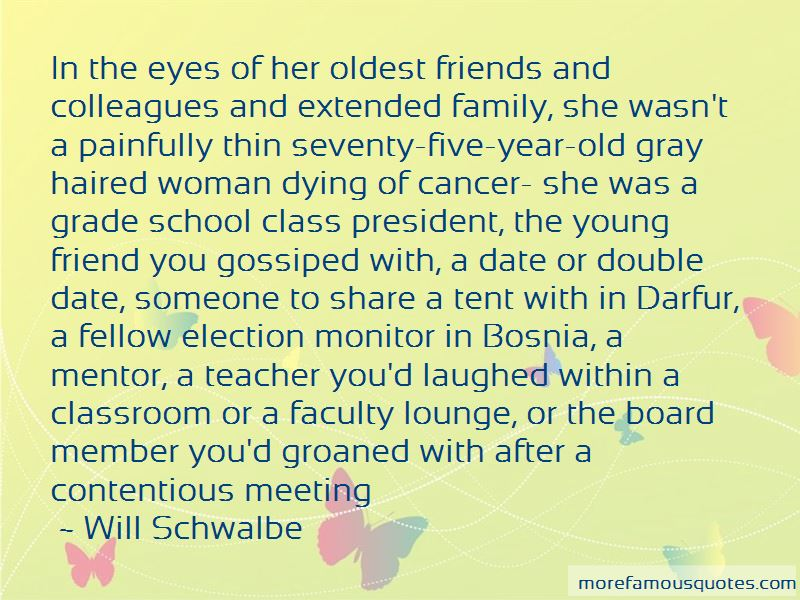 Quotes About A Family Member Dying From Cancer