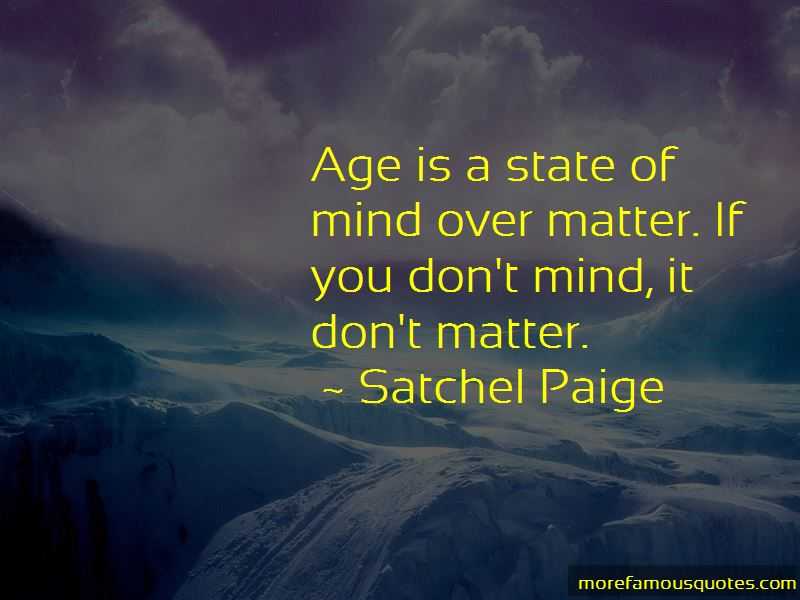 Quotes About Age Is A State Of Mind