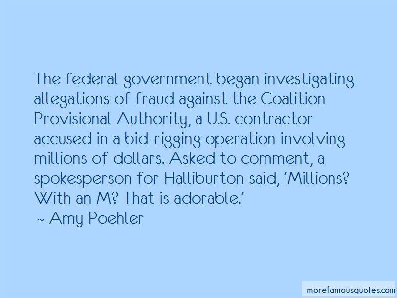 Quotes About Allegations