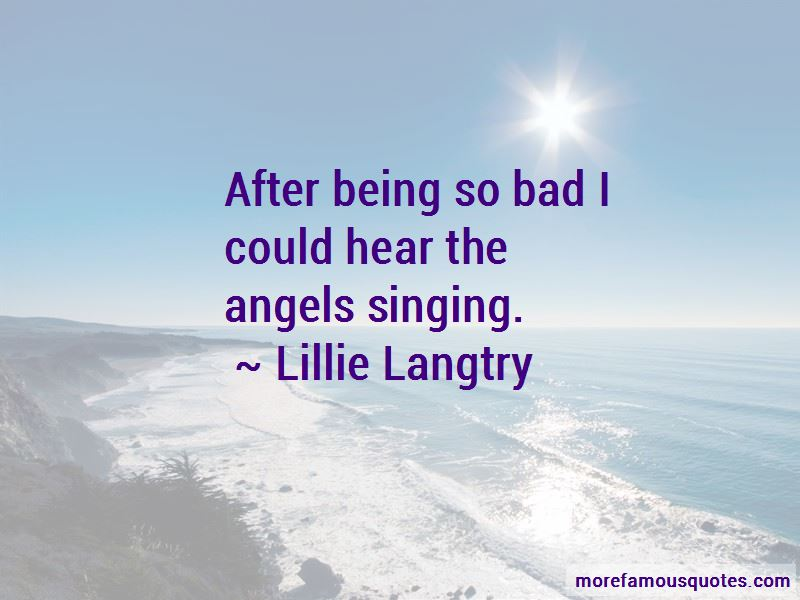 Quotes About Angels Singing