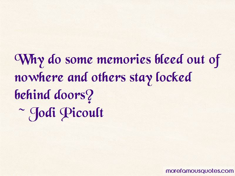 Quotes About Behind Doors