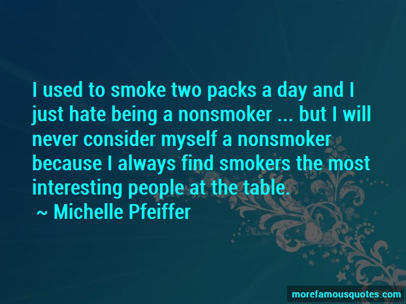 Quotes About Being A Nonsmoker
