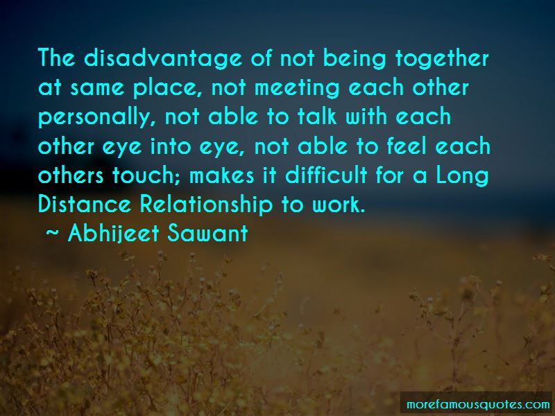 Quotes About Being In A Long Distance Relationship Top 3 Being In A