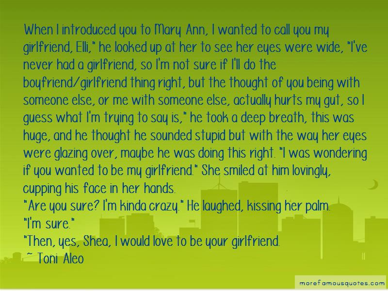 Being In Love With My Girlfriend Quotes Pictures 2