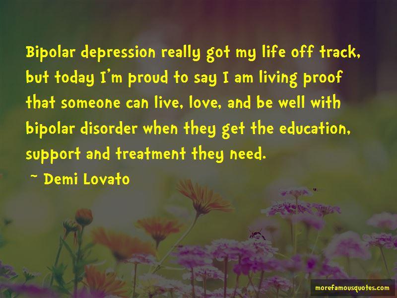 Quotes About Bipolar Depression: top 24 Bipolar Depression ...