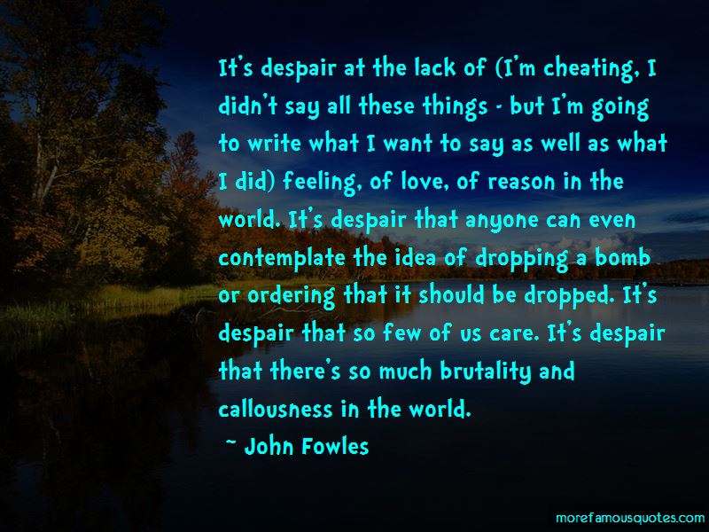 Quotes About Callousness