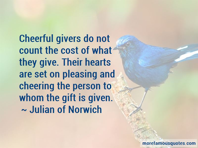 Quotes About Cheerful Givers