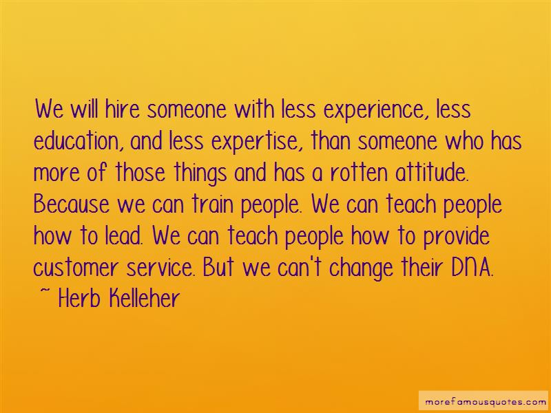 Quotes About Customer Service Attitude