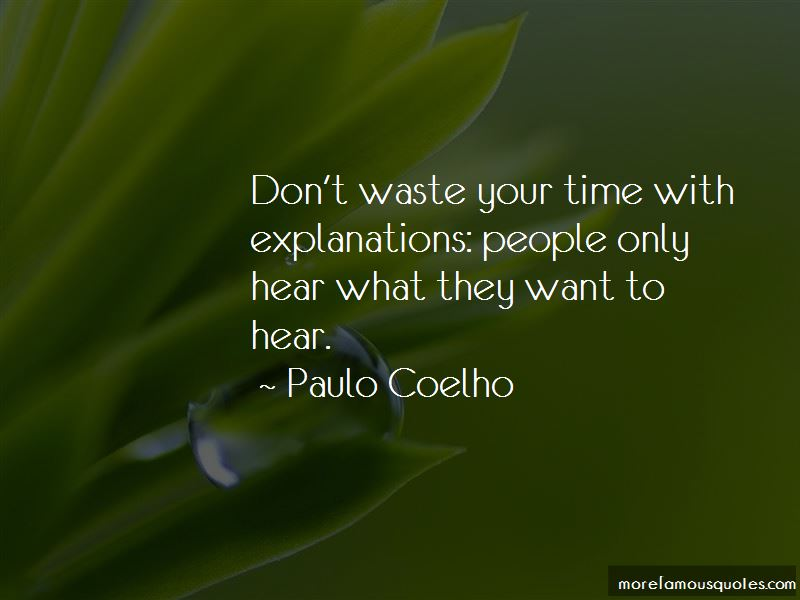 Quotes About Don't Waste Your Time