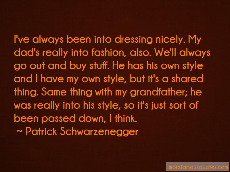 Quotes About Dressing Nicely
