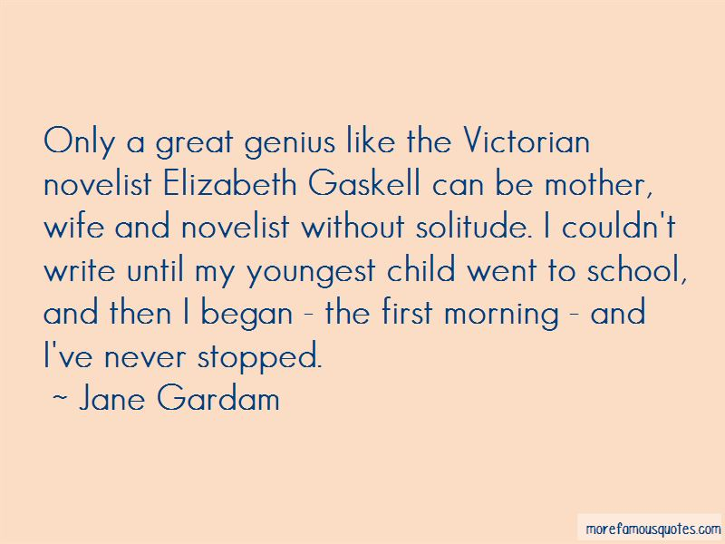 Quotes About Elizabeth Gaskell