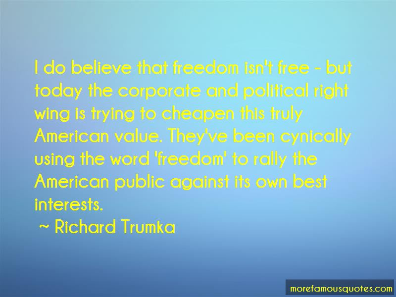 Quotes About Freedom Isn't Free