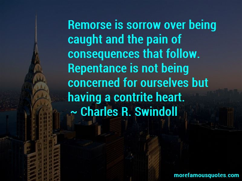 Quotes About Having No Remorse
