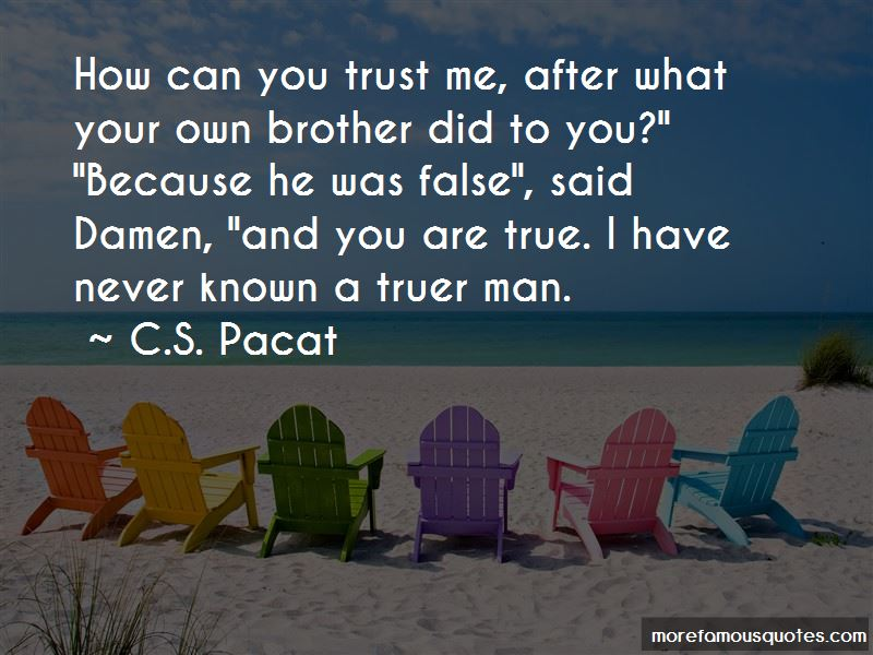 Quotes About How To Trust Your Man