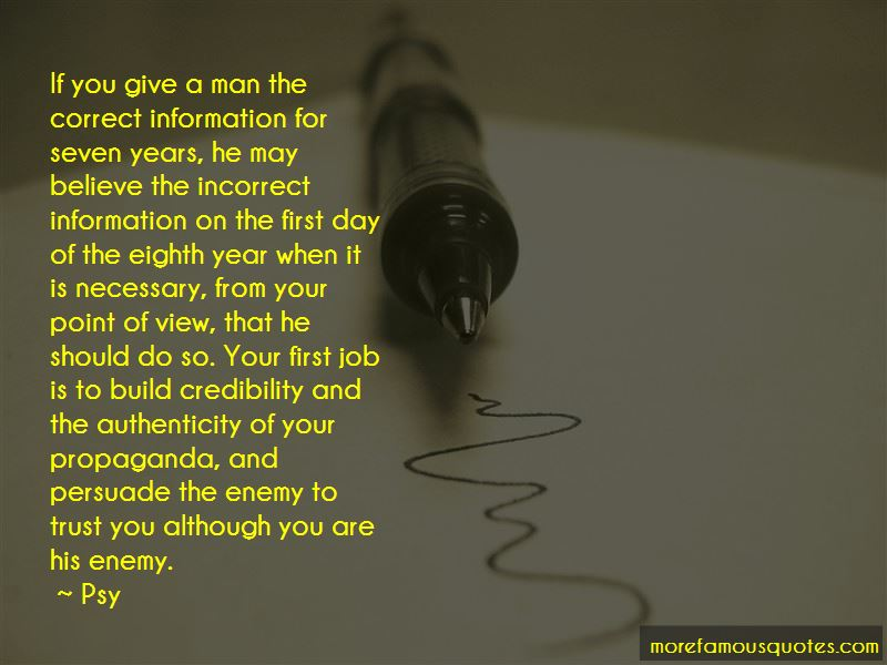 Quotes About Incorrect Information