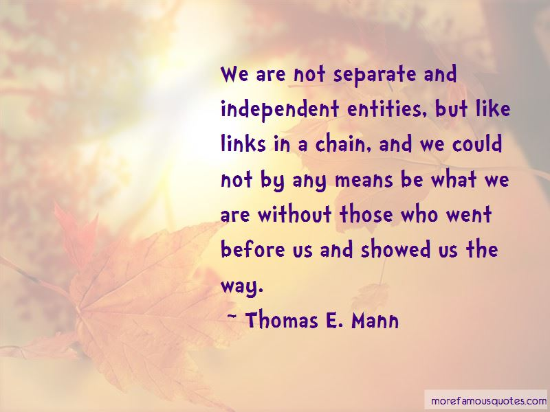 Links In A Chain Quotes Pictures 2