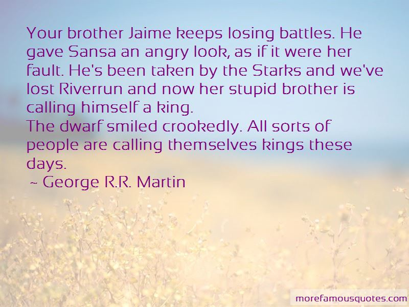 Quotes About Losing Your Brother
