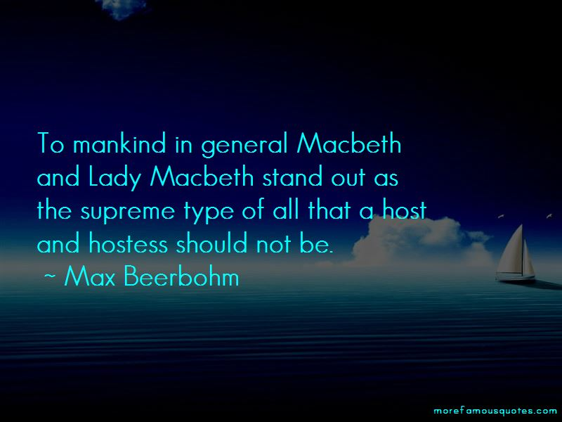 Quotes About Macbeth And Lady Macbeth