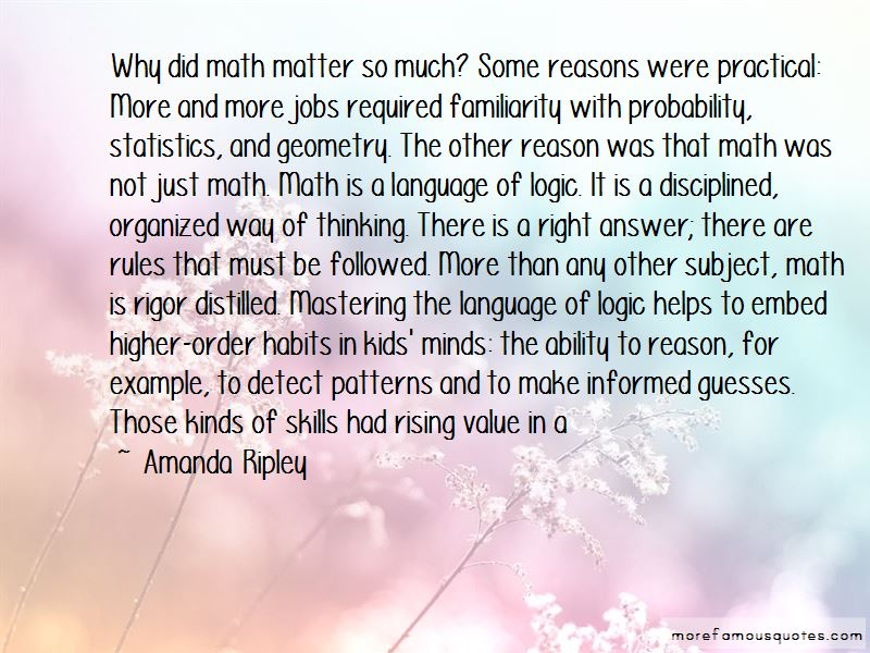 Math And Logic Quotes Pictures 3